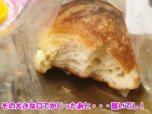 パンのかじりかけ