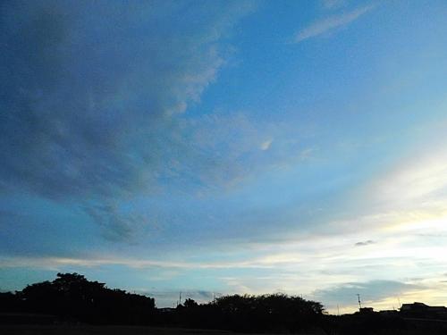 綺麗な夕方の空