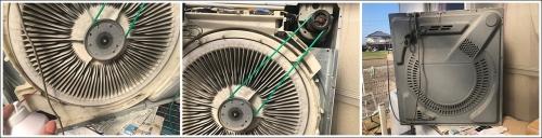 乾燥機ベルト交換
