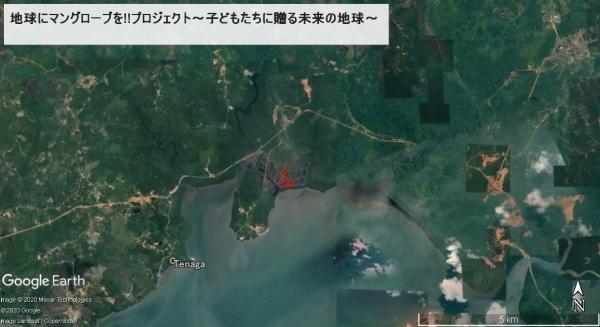 グーグルアースで見てみよう地図6