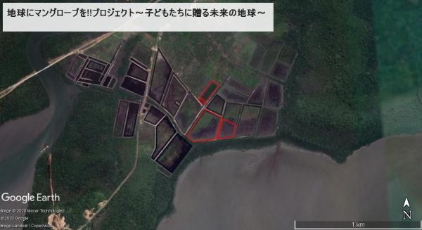グーグルアースで見てみよう地図7