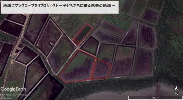 グーグルアースで見てみよう地図8