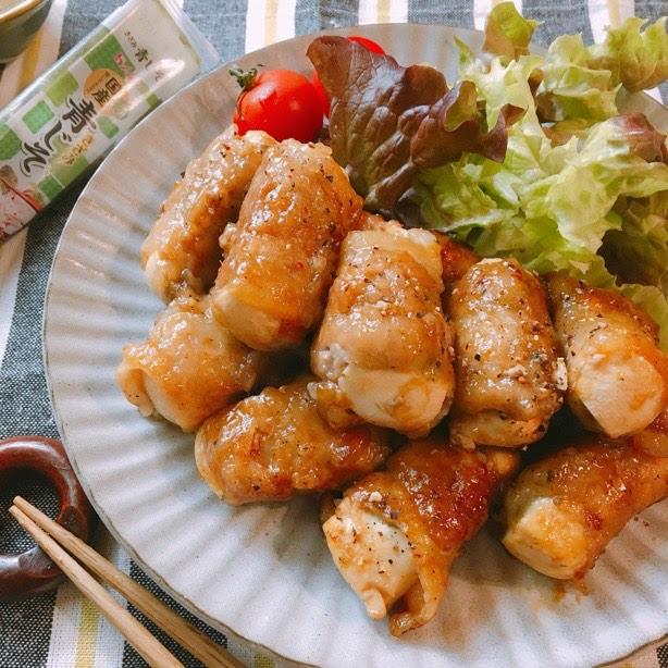 豚 バラ 豆腐 巻き