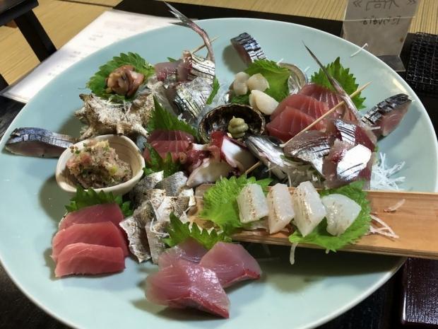 ながお夕食@湯河原 (1)