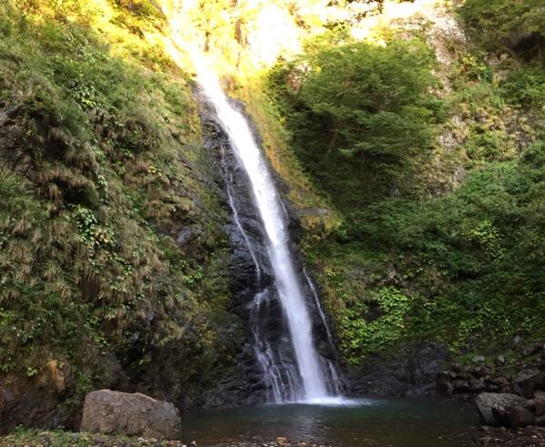 糸魚川不動滝キャンプ場に行ってきました
