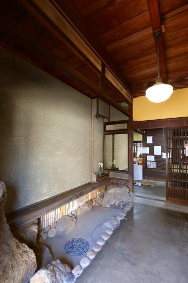 旧川本家住宅・玄関