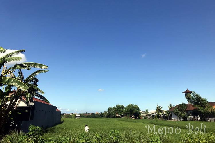バリ島 雨季の快晴