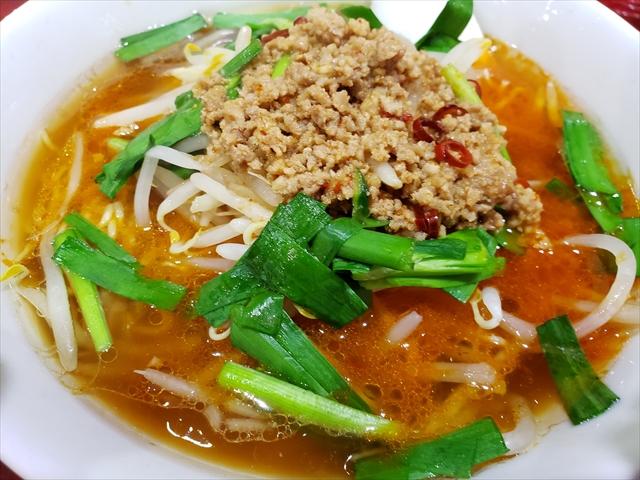 20191222_114105_R 担仔麺かと思ったら名古屋の台湾ラーメンに近い味。