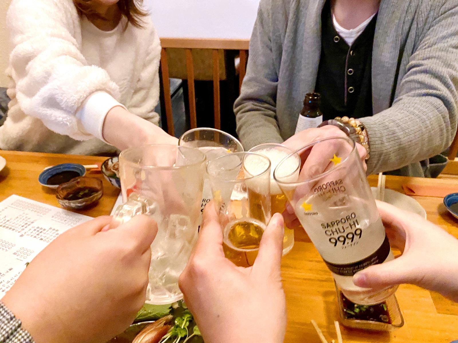 再度乾杯~♪