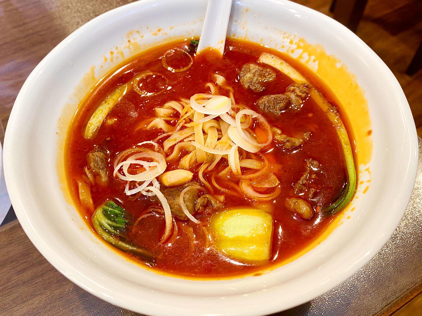 特製牛肉麺 1000円