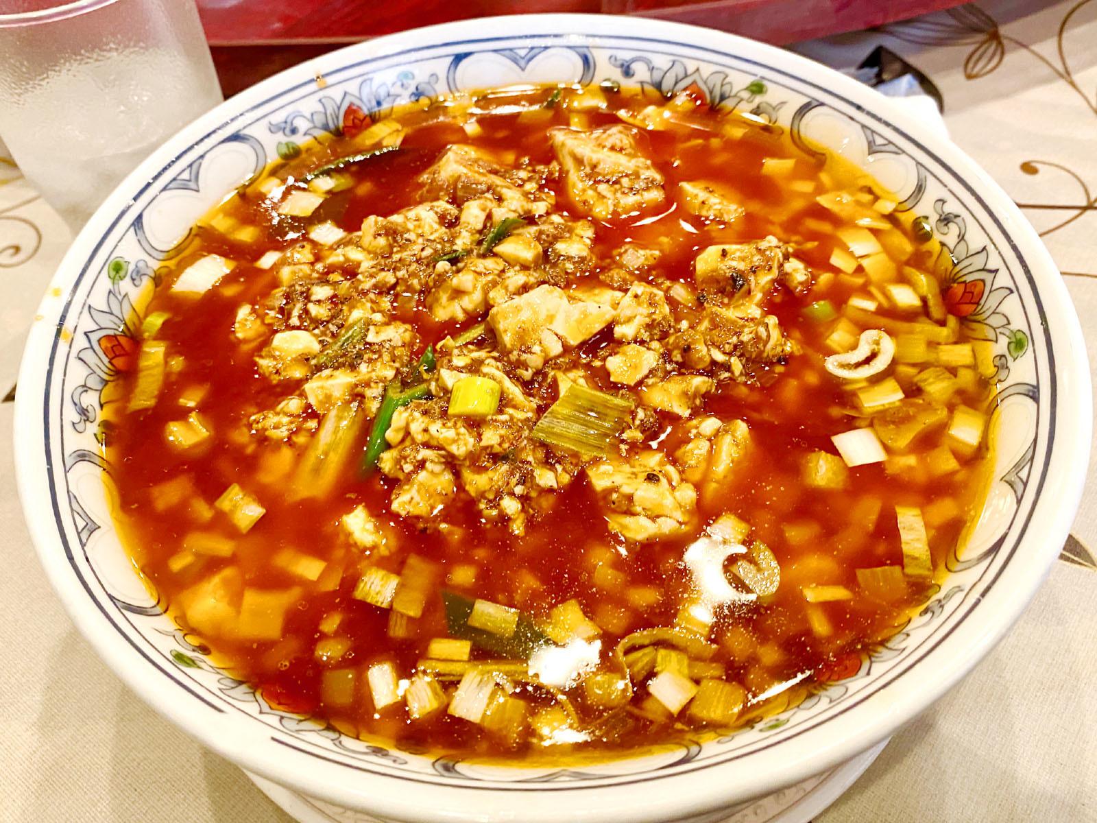 麻婆麺 850円