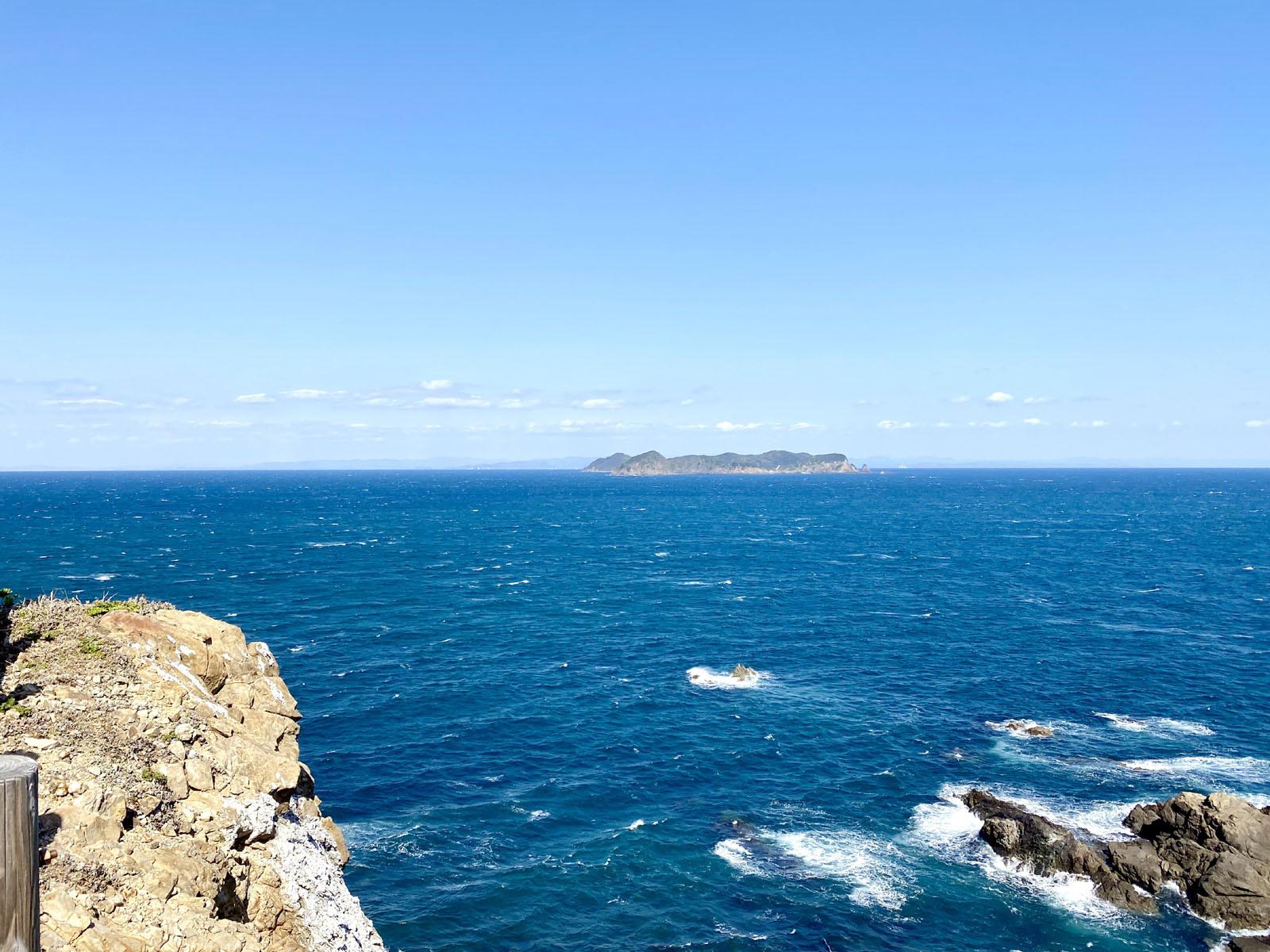 灯台付近からの眺め