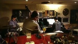 赤坂Gs barにて廣田ゆりピアノトリオ