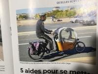 パリのvélo-cargo