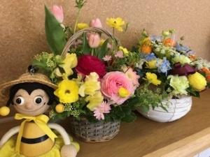 20200312_卒園お花