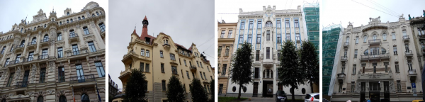 ユーゲントシュティール建築群1