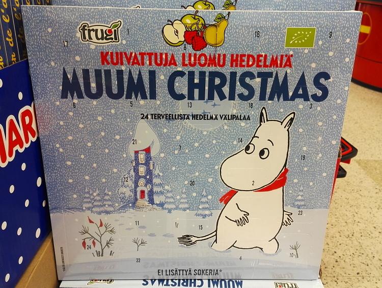 フィンランド ムーミン アドベントカレンダー Joulukalenteri Muumi ドライフルーツ