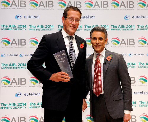 09a 500 Richard Quest TV personality