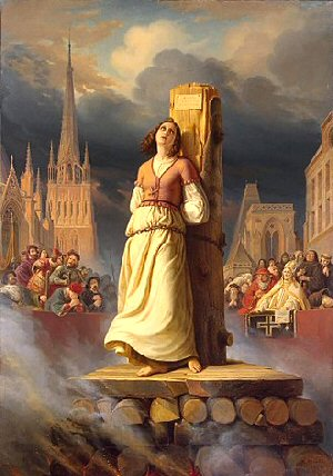 03b 300 Joan of Arc death at the stake