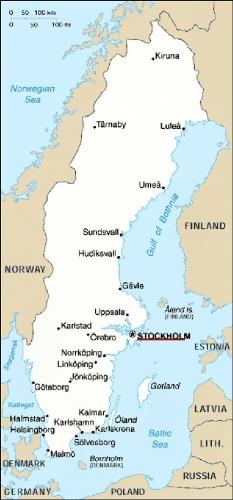 03cb location of Stockholm in Sweden