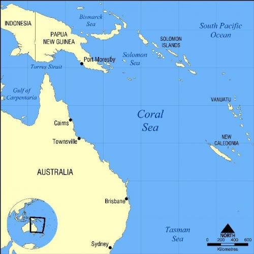 03d 700 Brisbane Coral Sea