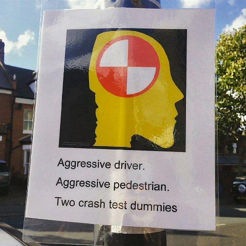 09a 500 aggressive driver sign