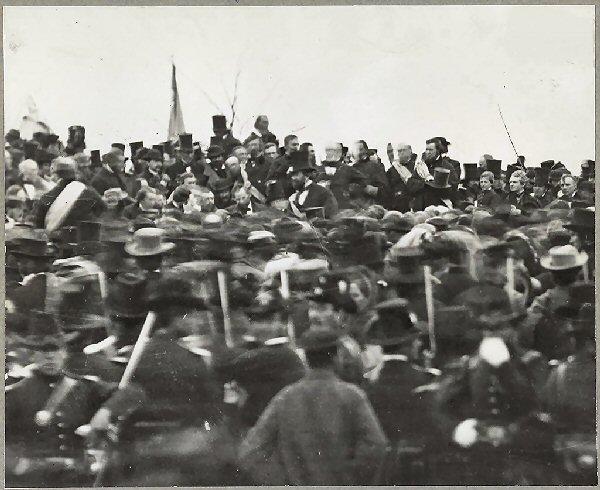 04a 600 Lincoln Gettysburg