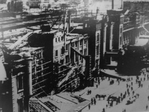 01cb 500 東京大空襲 東京駅周辺