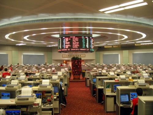 03bb 500 Hong Kong Stock Exchange 2007