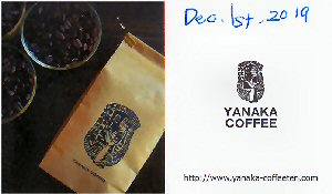 01c 300 Yanaka Coffee Bisiness card