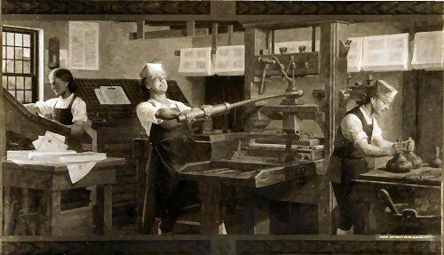 09a 500 Benjamin Franklin printing