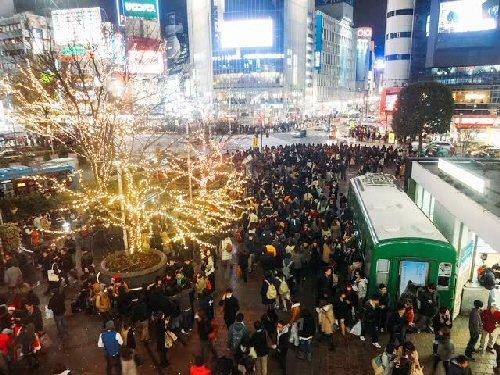 03c 500 Shibuya Crossing Christmas Illumination
