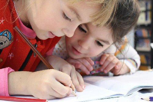 04b 500 kids are writing