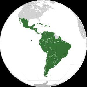 04d 300 Location of Latin America