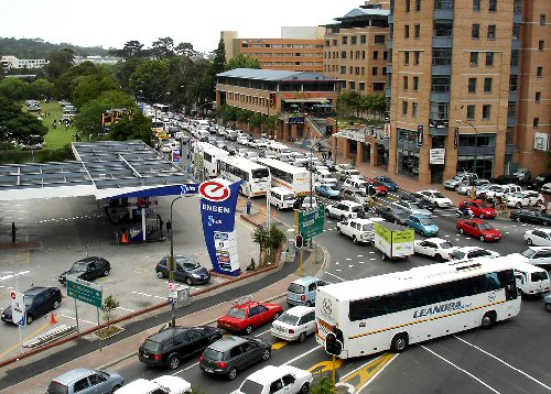 09b 500 traffic mess