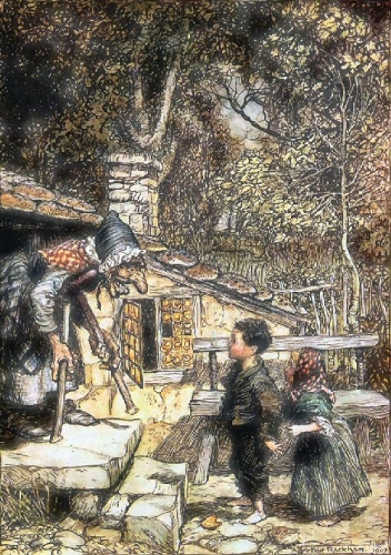 09a 500 Hansel and gretel rackham