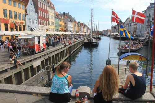 04b 500 view Copenhagen City Denmark