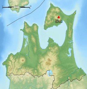 04c 300 恐山 location