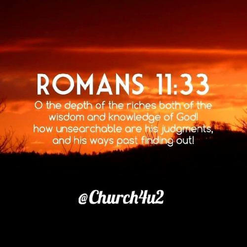 09a 600 Romans 11_33