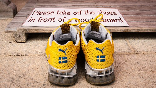 09a 500 take off shoes