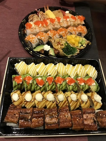 中国版巻き寿司2