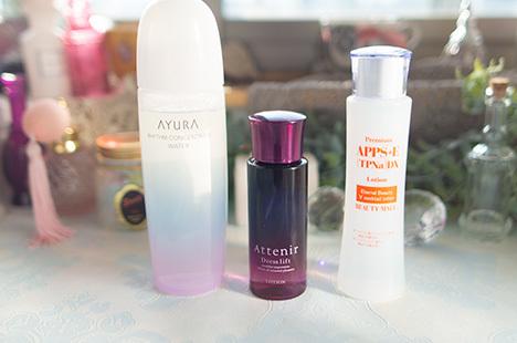 化粧水 アユーラ リズムコンセントレートウォーター アテニア ドレスリフト ビューティーモール APPS(アプレシエ)+E(TPNa)ローションDX