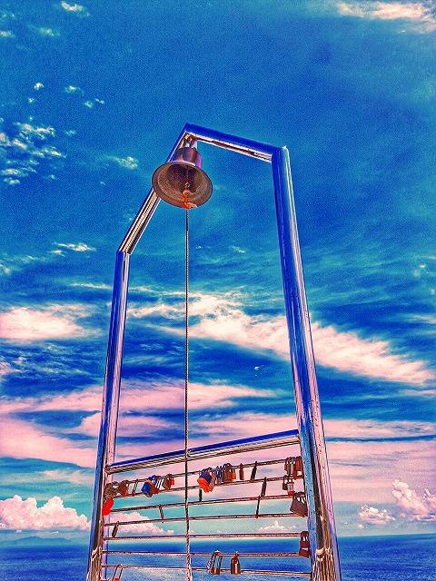 九州最東端 鶴御崎灯台 幸せの鐘