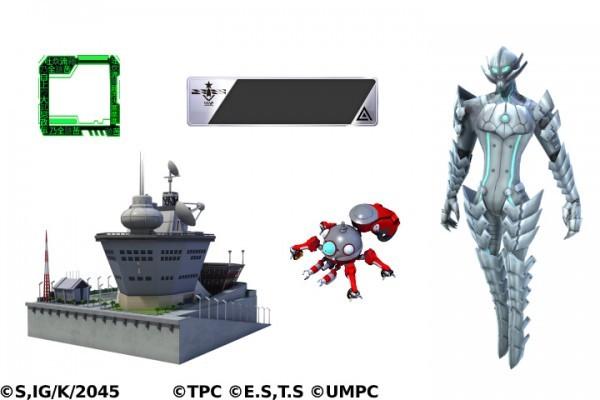 基本プレイ無料のブラウザ戦略シミュレーションゲーム、ビビッドアーミー、「攻殻機動隊SAC_2045×ULTRAMAN」とのドリームコラボを開始したよ