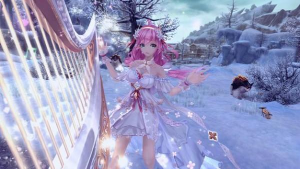 基本プレイ無料のアニメチックファンタジーオンラインゲーム、幻想神域、ミオラ掲示板に新クエストに5人用の追加クエストを実装したよ