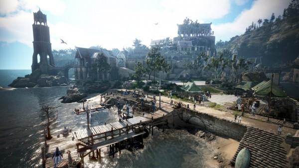 基本プレイ無料のノンターゲティングアクションRPG、黒い砂漠、新規島・グランディーハ&パプアクリニ島が登場したよ