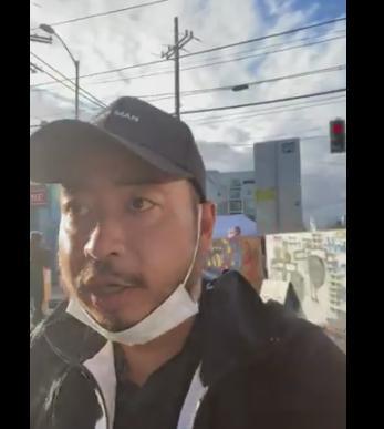 大袈裟太郎 猪股東吾 パヨク シアトル 黒人