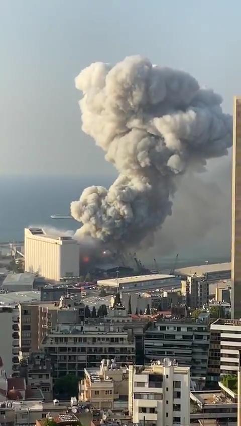 爆発 レバノン ベイルート カルロスゴーン