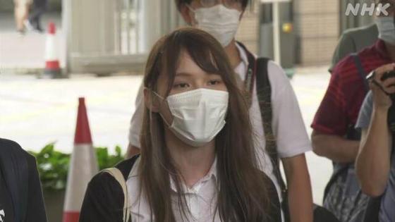 周庭 アグネス・チョウ 香港 中共 逃亡犯条例 香港国家安全維持法