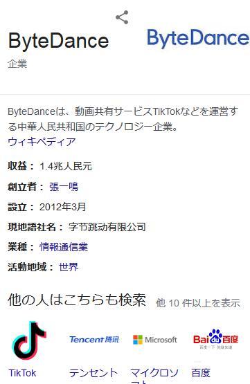 TikTok フジテレビ バイトダンス めざましテレビ